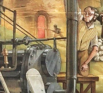 Trevithick's Railway Engine