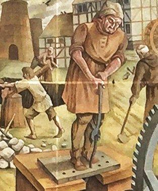 16th century iron slitting