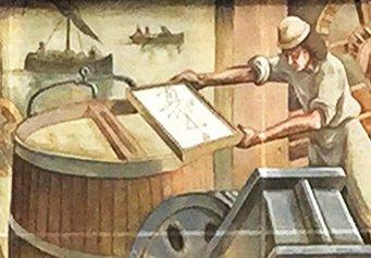 Spillman's paper mill, Foolscap