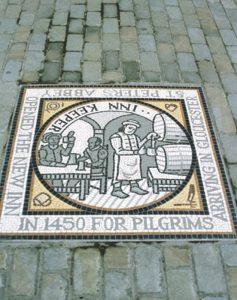Medieval Inn Keeper Mosaic