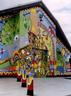 Hockwell Ring Carnival Mural