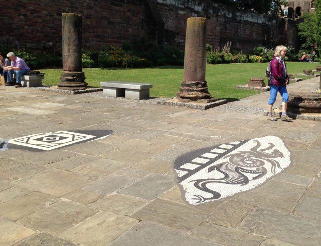 Chester Roman Baths Mosaics