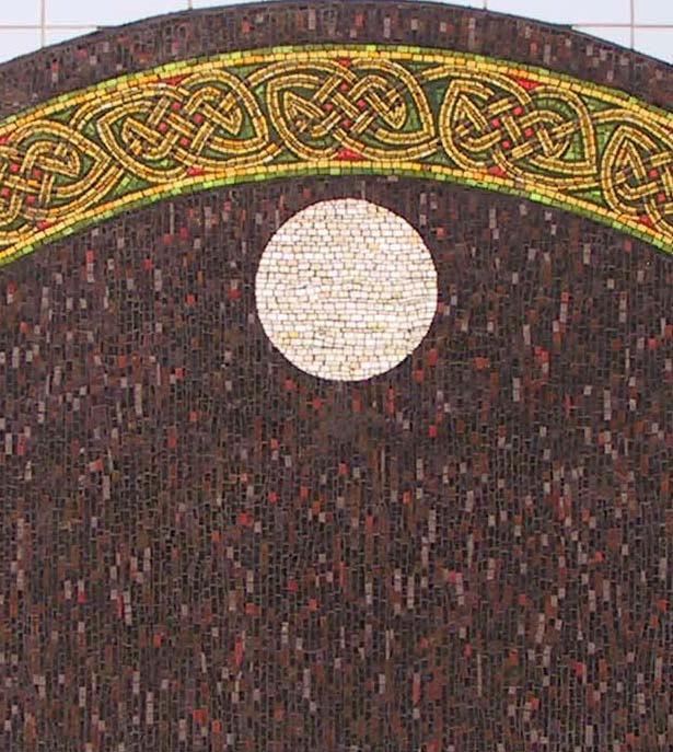 Saint Cybi - Holyhead Celtic Gateway Mosaics