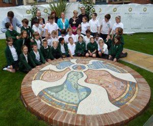 magic roundabout mosaic Hemel Hempstead