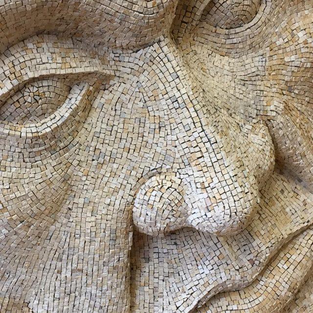 Ozymandias Sculpture front