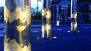 Time & Tides Mosaic Columns – Drostle & McCausland