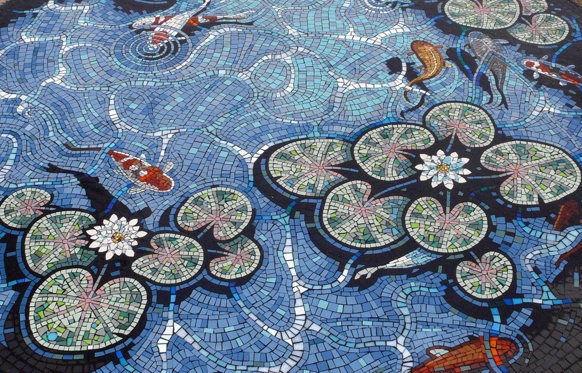 Lily Pond Mosaic