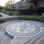 Roman Garden Mosaic – Chester by Gary Drostle