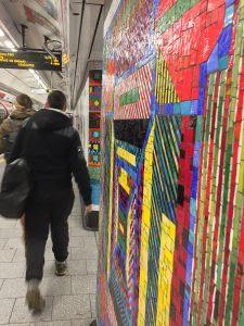 Tottenham Court Road Station Mosaics