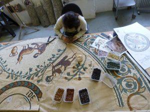 Making the Chester Roman Garden Mosaic