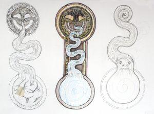 Iowa University preliminary sketches