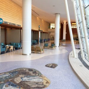 Lucile Packard Children's Hospital, Mosaic floor