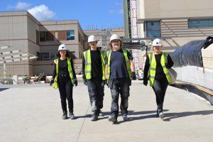 Drostle Public Arts installation team LPCH