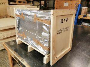 Drostle Public Arts shipping crate