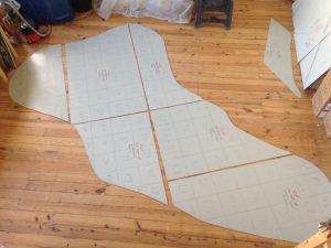 LPCH mosaic template fabrication