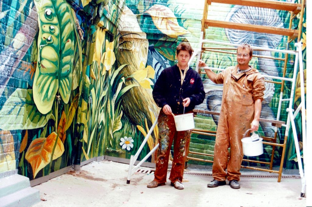Artists Rob Turner & Gary Drostle - Wallscapes