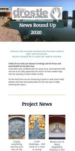 Drostle Public Arts Newsletter
