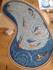 Kidney Fishpond Mosaic