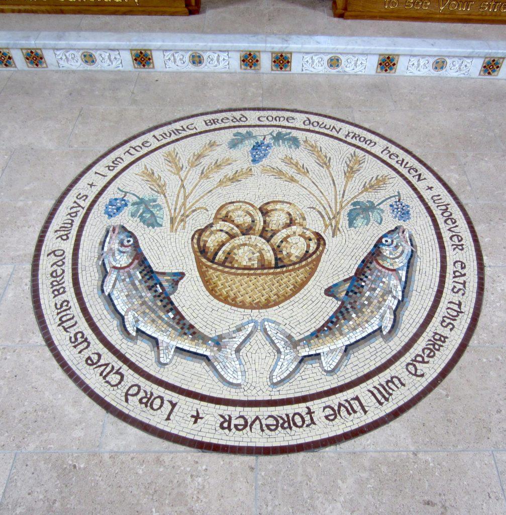 Loaves and Fish Mosaic