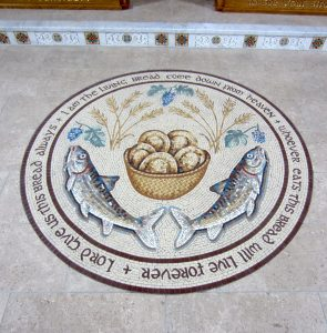 Loaves and Fish Mosaic