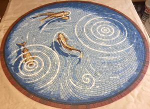 Fishpond table top