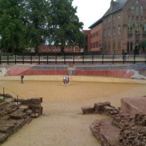 Chester Roman Amphitheatre mural