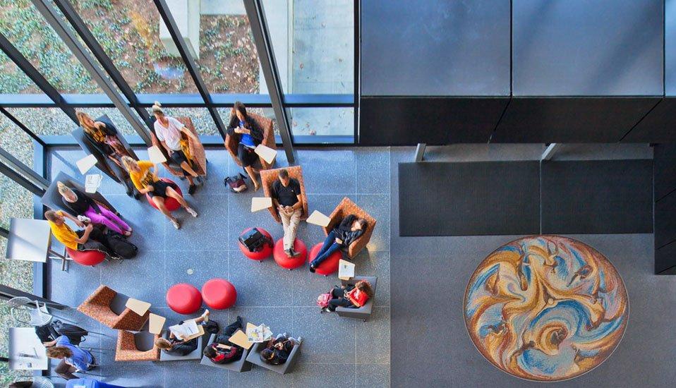 Movement & Vitality Mosaic top view