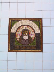 St Cybi Mosaic Portrait