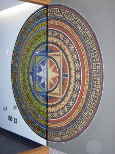 The Bradbury Centre Foyer Mandala Mosaic