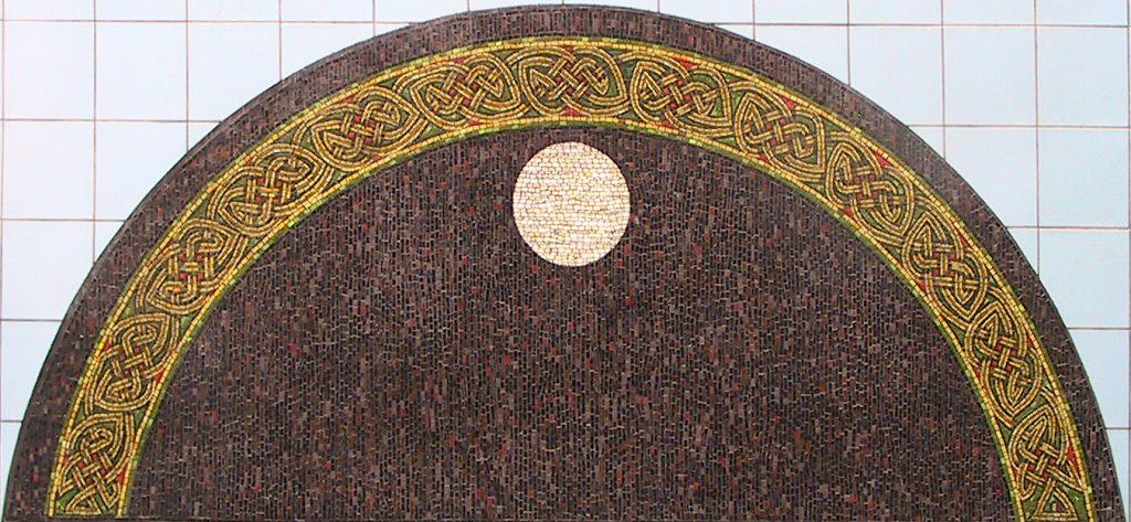 The Cybi arch mosaic
