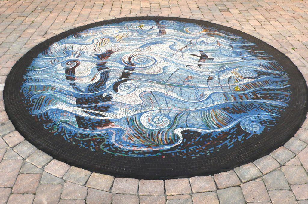 Rhynes central panel mosaic