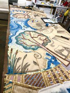 Making Thamesmead mosaic